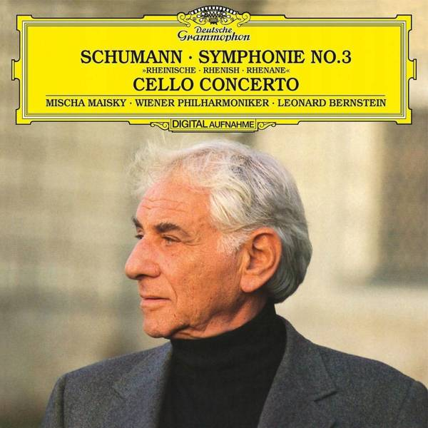LEONARD BERNSTEIN Schumann Symphony 3 LP
