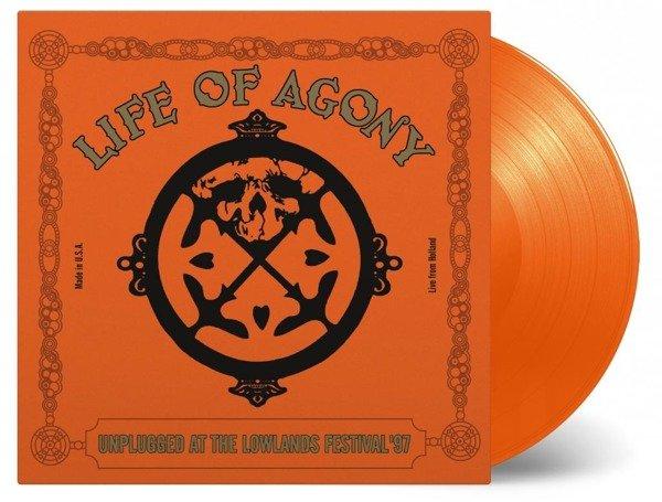 LIFE OF AGONY Unplugged At Lowlands 97 2LP (Orange Vinyl)
