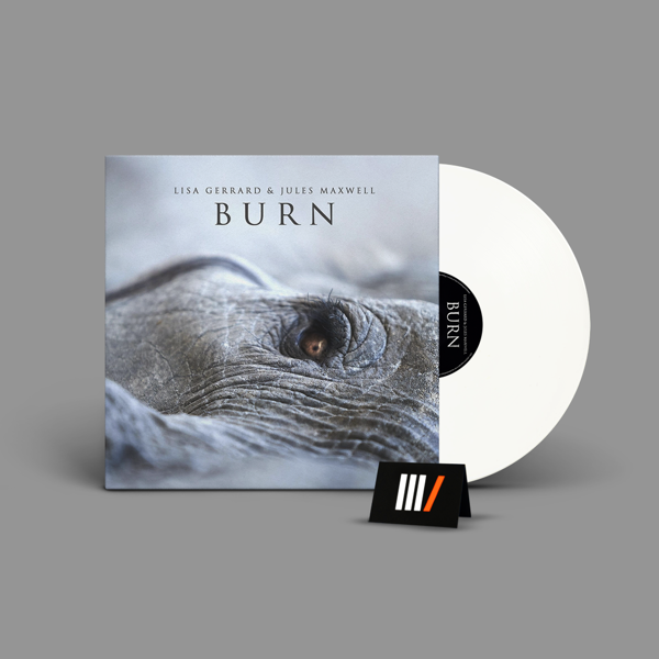 LISA GERRARD & JULES MAXWELL Burn LP WHITE