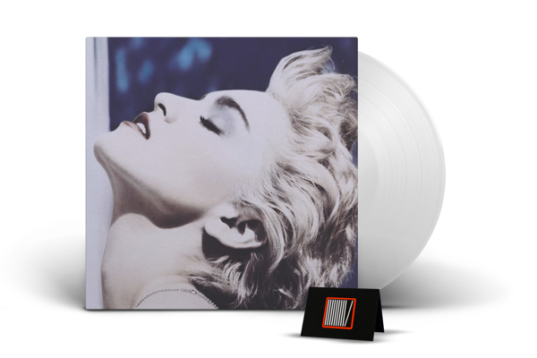 MADONNA True Blue (CLEAR Vinyl Album) LP