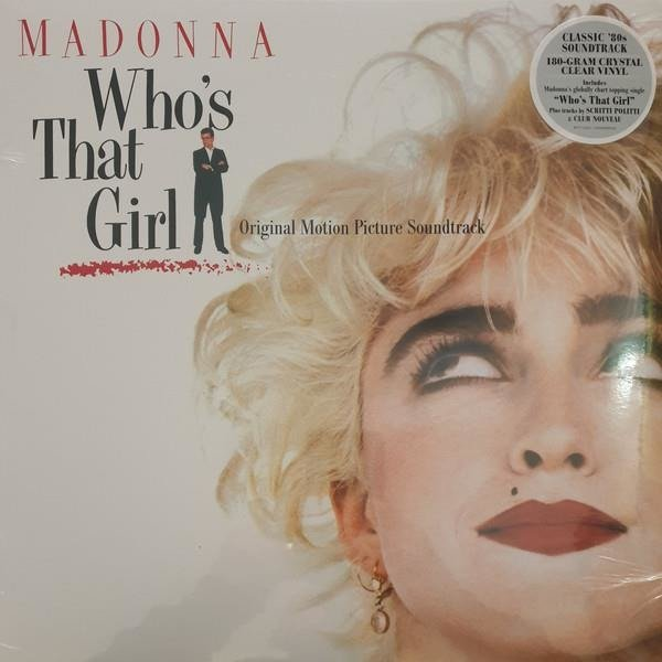 MADONNA Who's That Girl Ost (CLEAR Vinyl Album) LP