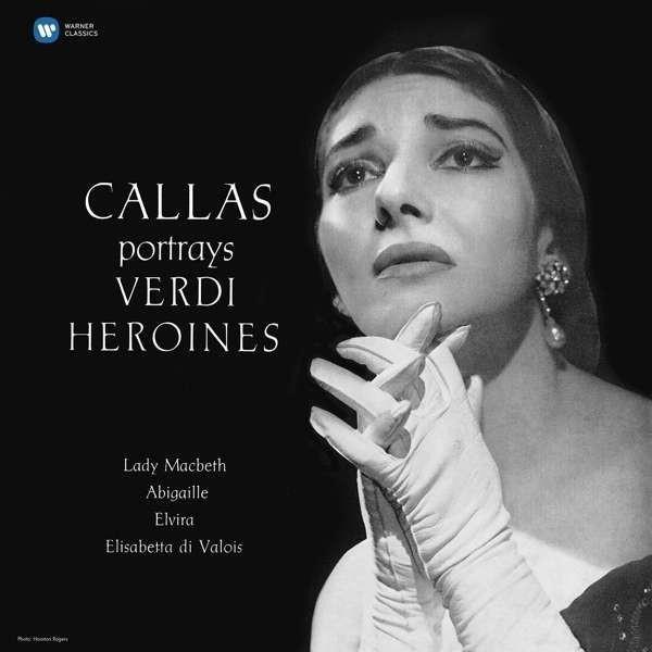 MARIA CALLAS Verdi: Callas Portrays Verdi Heroines (STUDIO Recital) LP