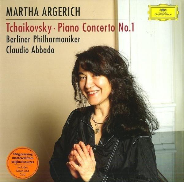 MARTHA ARGERICH Tchaikovsky Piano Concerto 1 LP