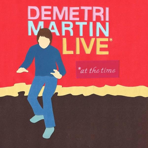 MARTIN, DEMETRI Live (AT The Time) LP