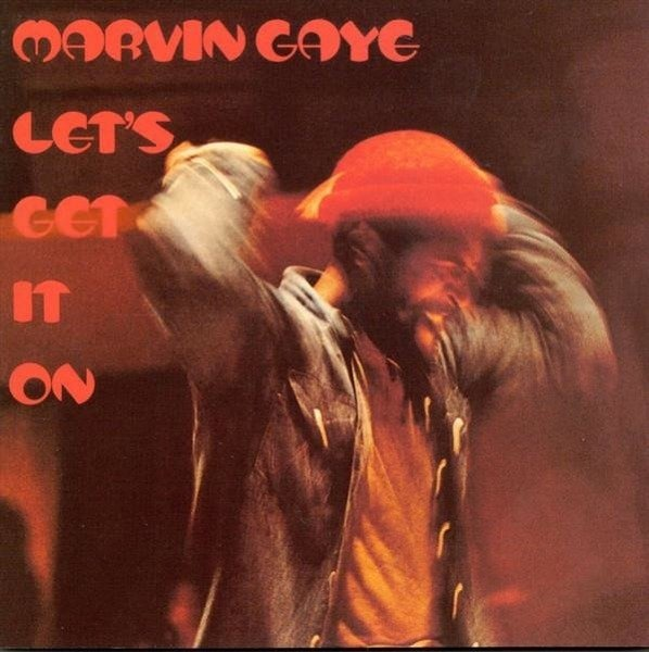 MARVIN GAYE Let's Get It On. LP
