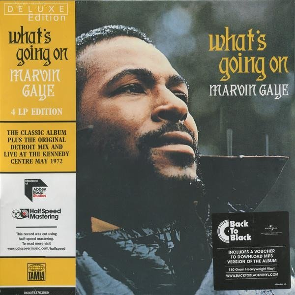 MARVIN GAYE What's Going On 4lp 4LP