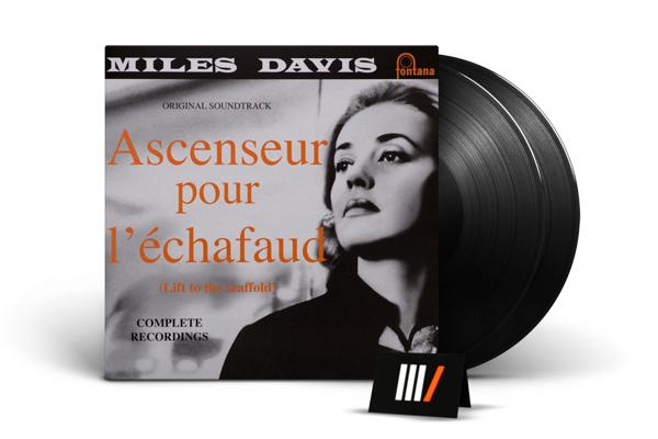 MILES DAVIS Ascenseur Pour L'echafaud 2LP