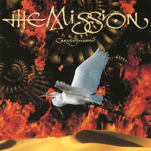MISSION Carved In Sand LP (Red Vinyl)