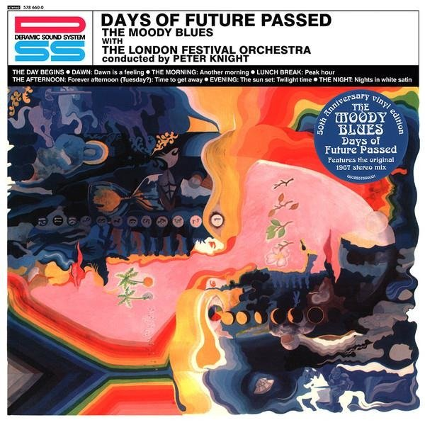 MOODY BLUES Days Of Future Passed LP