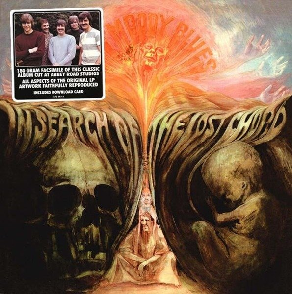 MOODY BLUES In Search Of The LOST Chord LP