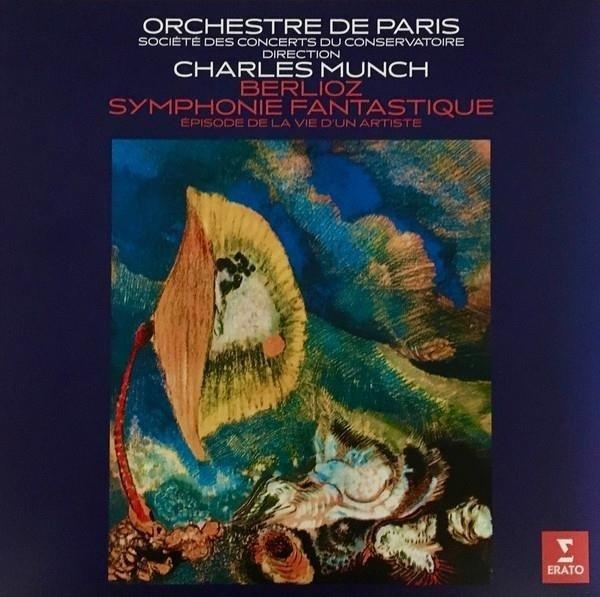 MUNCH/ORCHESTRE DE PARIS Berlioz: Symphonie Fantastique LP