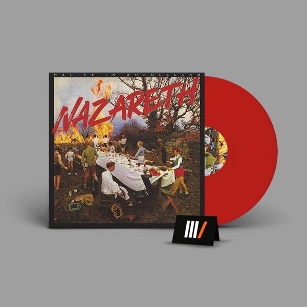 NAZARETH Malice In Wonderland LP RED