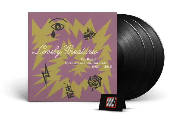 NICK CAVE & THE BAD SEEDS Lovely Creatures - The Best Of 1984-2014 3LP