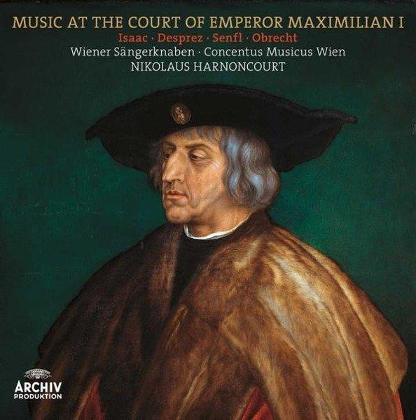 NIKOLAUS HARNONCOURT Music At The Court Of Emperor Maximilian I LP
