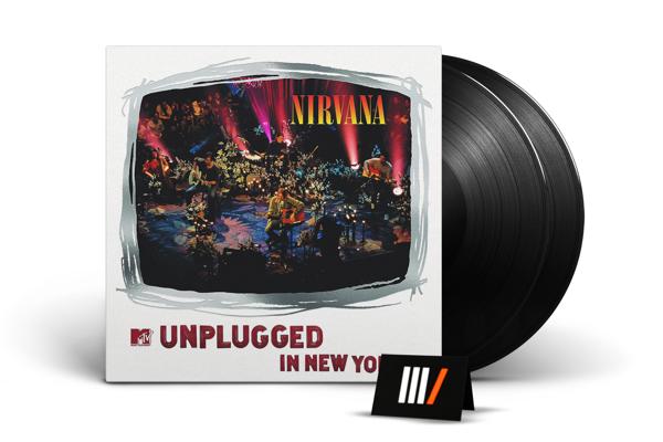 NIRVANA MTV Unplugged In New York 2LP