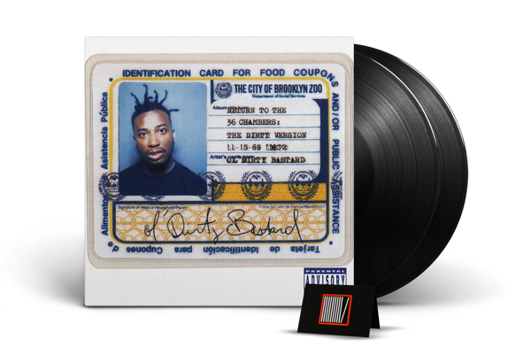 OL' DIRTY BASTARD Return To the 36 Chambers:Dirty Version 2LP
