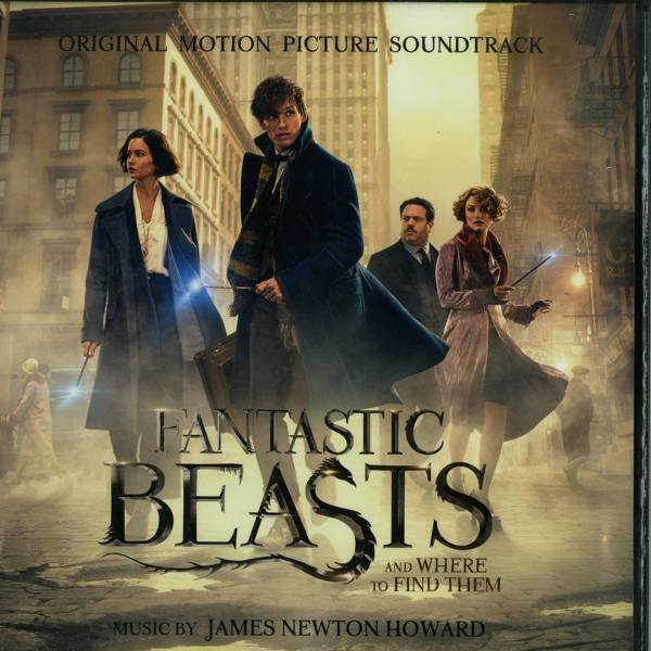 OST Fantastic Beasts and Where To Find Them 2LP