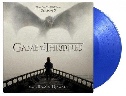OST RAMIN DJAWADI Game of Thrones 5 2LP (Blue Vinyl)