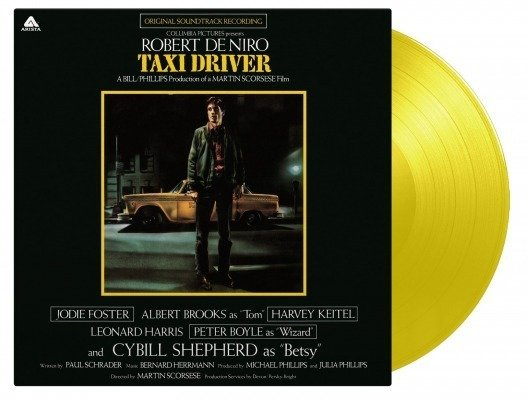 OST Taxi Driver LP YELLOW