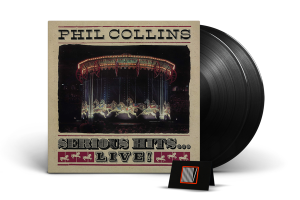 PHIL COLLINS Serious Hits...Live! 2LP