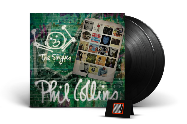 PHIL COLLINS The Singles 2LP