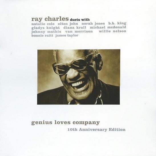 RAY CHARLES Genius Loves Company - 10th Anniversary Editions 2LP