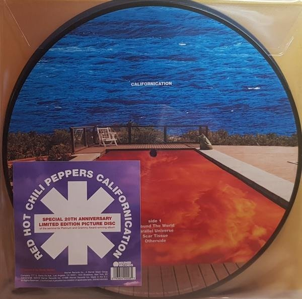 RED HOT CHILI PEPPERS Californication (PICTURE Vinyl) 2LP