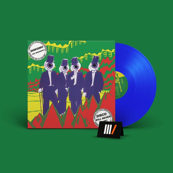RESIDENTS Diskomo/Goosebump Ep LP BLUE