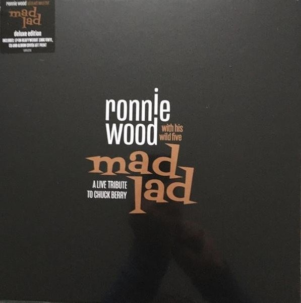 RONNIE WOOD WITH HIS WILD FIVE Mad Lad: A Live Tribute To Chuck Berry 2LP