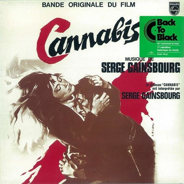 SERGE GAINSBOURG Bande Originale Du Film Cannabis LP