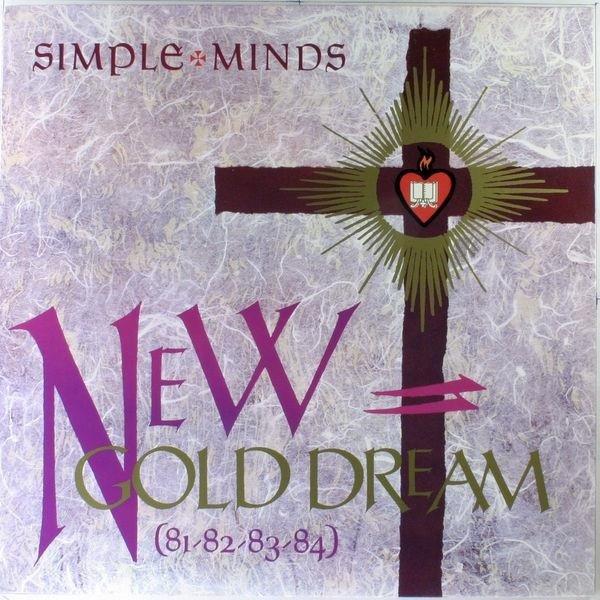 SIMPLE MINDS New Gold Dreams (81-82-83-84) LP