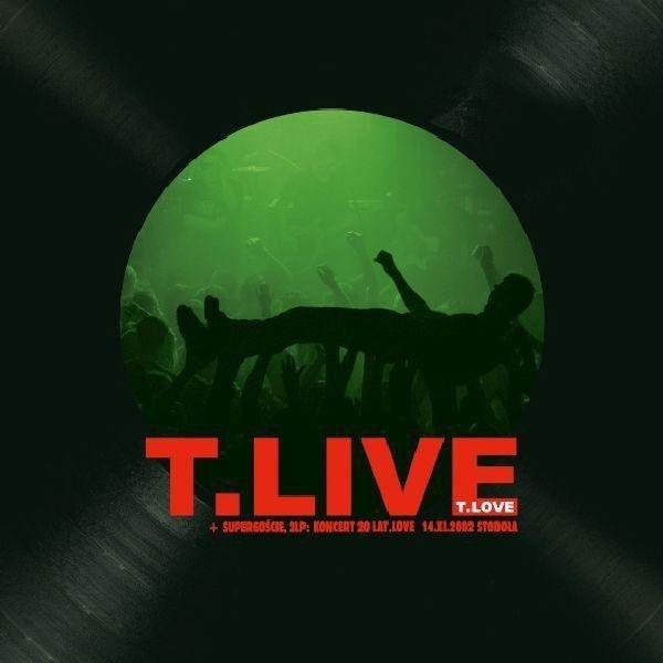 T.LOVE T.Live 2LP