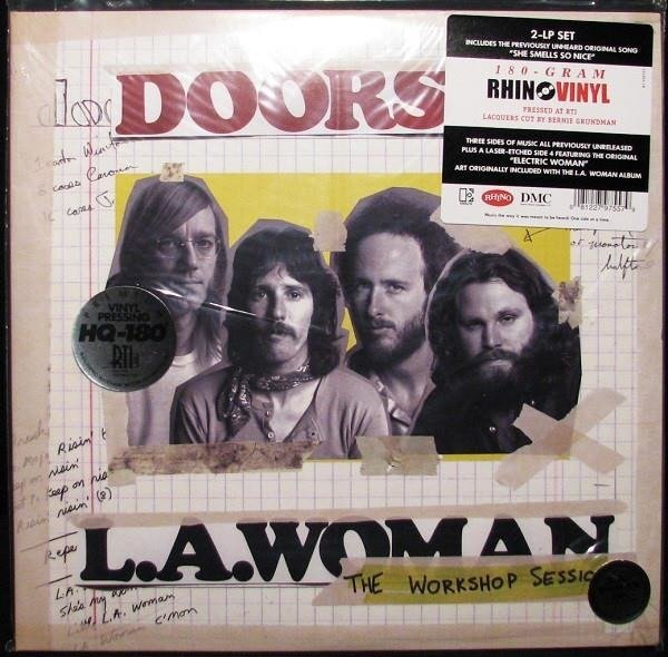 THE DOORS L.A.Woman-The Workshop Session 2LP