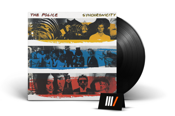 THE POLICE Synchronicity LP
