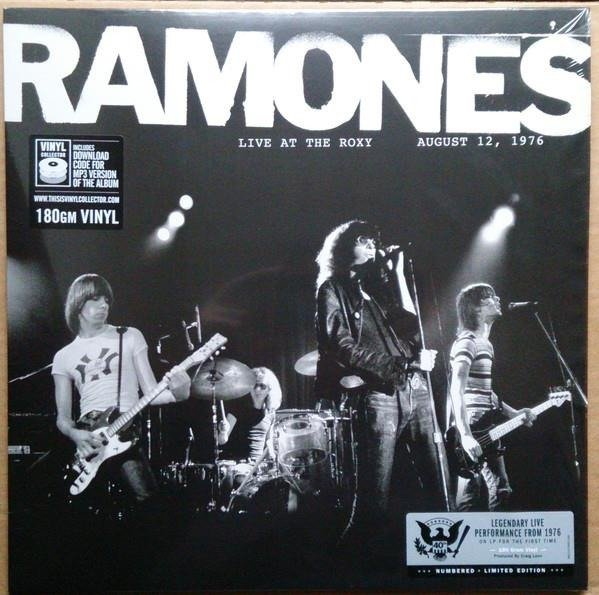 THE RAMONES Live At The Roxy 08/12/1976 LP
