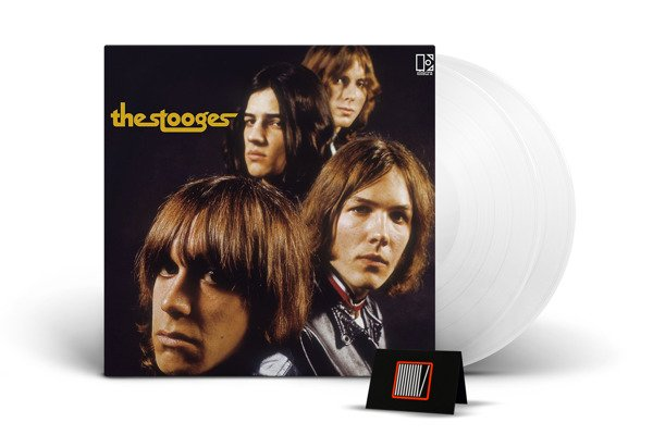 THE STOOGES The Stooges LP WHITE