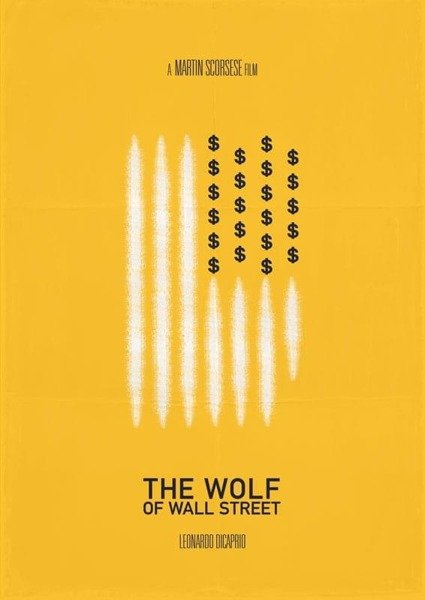 The Wolf Of Wall Street PLAKAT