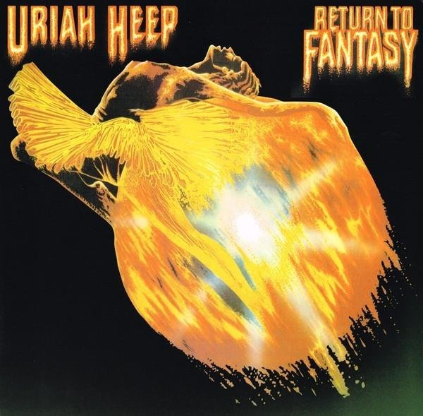 URIAH HEEP Return To Fantasy LP
