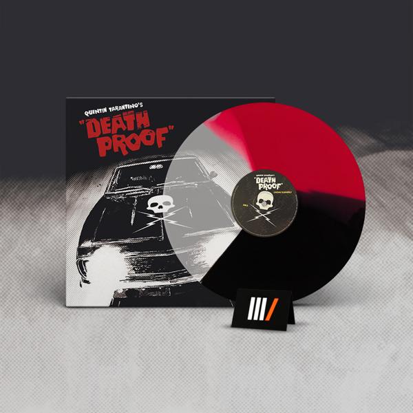 V/A Quentin Tarantino's Death Proof OST LP COLOURED