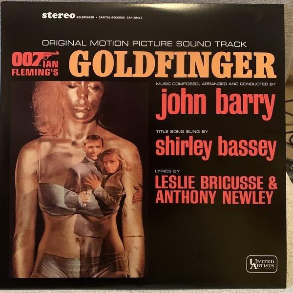 VARIOUS Goldfinger LP