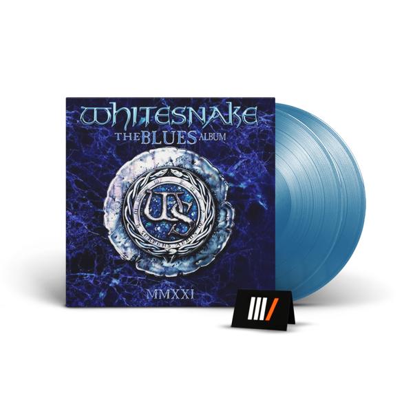 WHITESNAKE The Blues Album 2LP BLUE